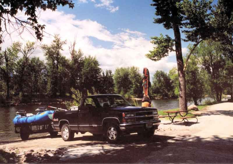 The Angler's Roost Boat Ramp Boat Ramp  RV Camping  Bitterrroot River