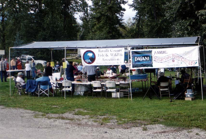 Bitterroot River Cleanup 2008 Cleanup 2008  RV Camping  Bitterrroot River