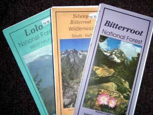 Forest Service Maps  Fly Fishing Guides  Fly Fishing Montana Books
