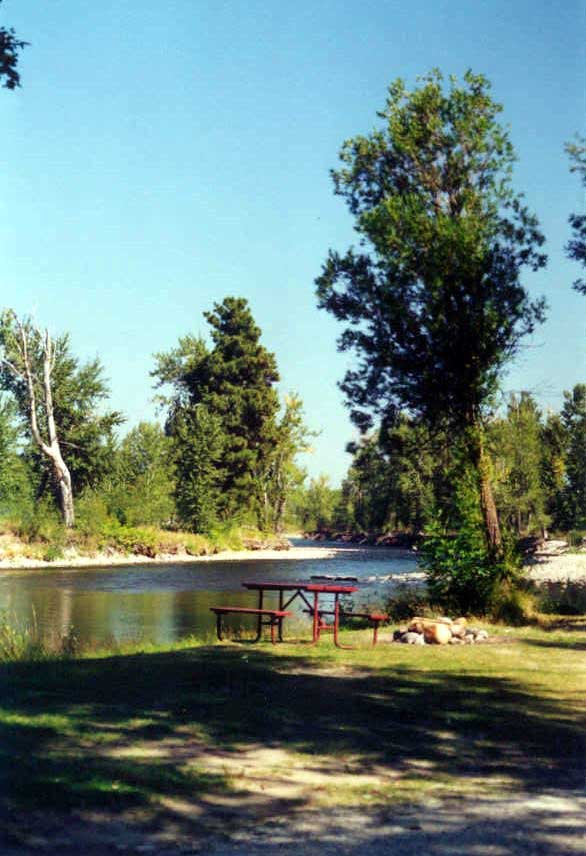 Riverside Campground Riverside Campground  RV Camping  Bitterrroot River