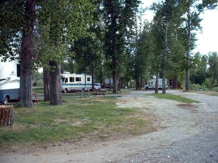 The Lower Campground The Lower Campground  RV Camping  Bitterrroot River